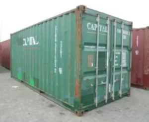 as is steel shipping container Chicago, as is storage container Chicago, as is used cargo container Chicago